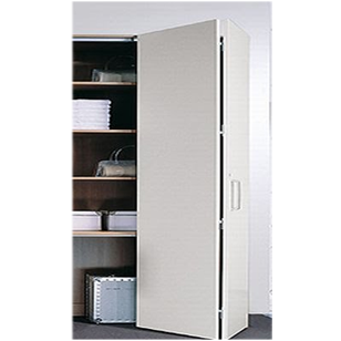 Wardrobe Sliding Folding Fitting for 2 Door - 50 Kg without bottom with 2 Mtr. Track - Made in Italy
