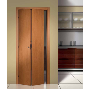 Sliding Folding Door Fitting for 2 Doors Extra Heavy - 150 Kg per with 2 Mtr. Track - Made in Italy