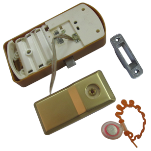 Electronic Lock - Gold Plated Finish