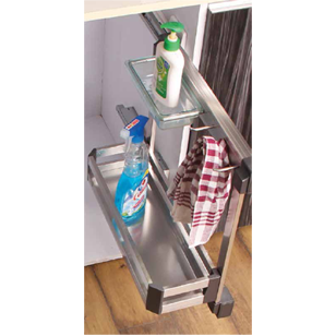 Under Sink Storage with silent soft close