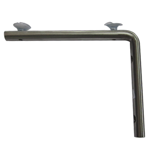 D Type Shelf Bracket - 150mm - Stainless Steel Finish