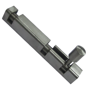Square Tower Bolt - 4 Inch - SS Finish - Stainless Steel Material