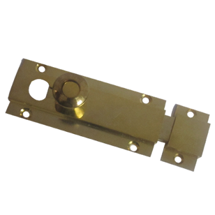 Intro Baby Latch - Gold Finish - 4 Inch