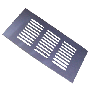 Ventilation Grill - 150mm - Chrome Plated Finish