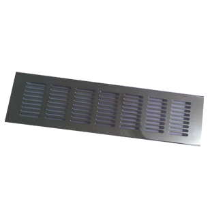 Ventilation Grill - 300mm - Chrome Plated Finish