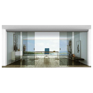 Glass Door Telescopic (Syncronised) System with Dampner