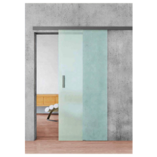 COMPACT Sleek Glass Sliding with Soft close - 80 Kg