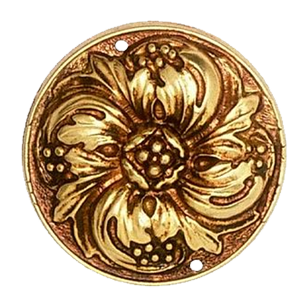 Furniture Carving - Old Gold Finish - 42mm