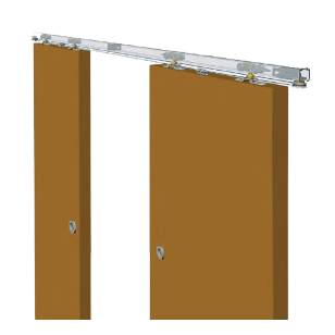 Syncro Sliding Fitting - 2 Doors