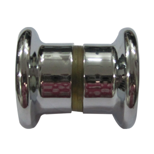 Shower Glass Door Knob - Chrome Plated Finish
