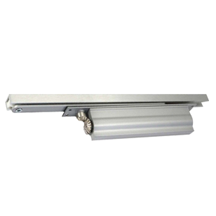 Concealed Door Closer with CAM Action Size 2 ~ 4 - Hold Open (High Performance) - Silver Finish
