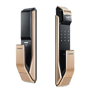 Samsung Biometric Push Pull Digital Lock - SHS-P718