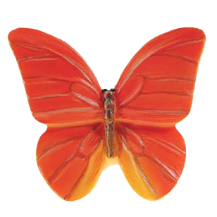 Butterfly Cabinet Knob - 44mm - Multicolour