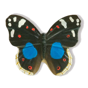 Butterfly Cabinet Knob - 38mm - Multicolour