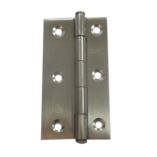 Door Hinges - 3x 1/2 x 3/4 Inch - SS Finish - Stainless Steel Material
