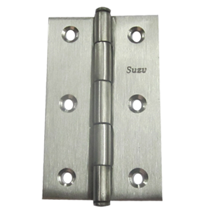 Door Hinges - 3 x 3/4 x 3/4 Inch - SS Finish - Stainless Steel Material
