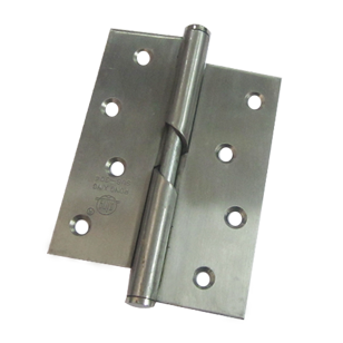 Rising Door Hinge - 4X3X2 Inch - SS Finish - Stainless Steel Material