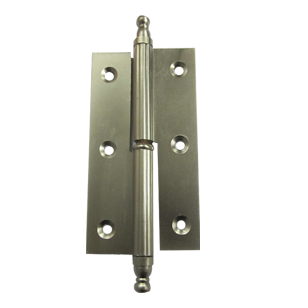 Crown Hinge - 3X1/2X1/2 Inch - SS Finish