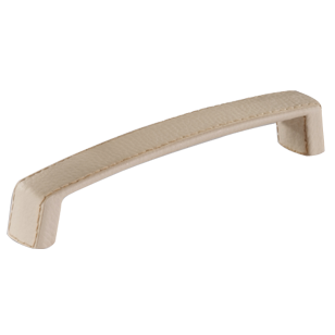Cabinet Leather Handle - Light Beige Colour - 176mm