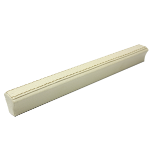 Cabinet Handle - 200mm - Light Beige Leather