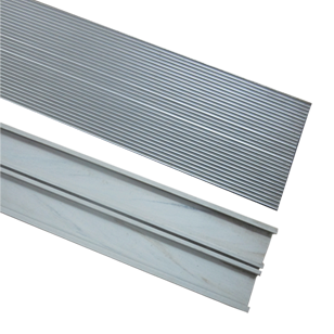 Skirting - 1 Mtr Length - Silver Finish