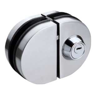 Glass Door lock - Stainless Steel Finish
