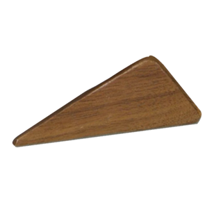 KITE 32 - Wooden Cabinet Handle - 32mm - Walnut clear lacquered Finish
