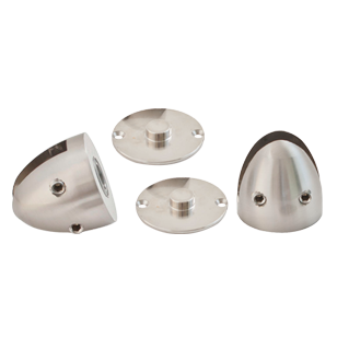 Floor Spring - Free Hinge without return spring - Polished Chrome Finish - Load Capacity - 60Kg