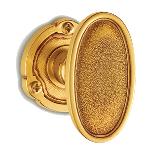 MADRID Door Knob - Gold Finish