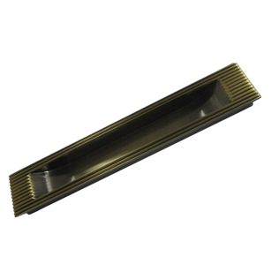 Lining Concealed Sliding Handle - 300mm - Antique Bronze Finish