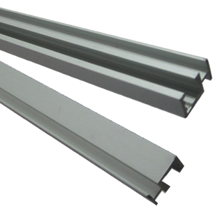 Centre Profile for DIY Profile - 2000mm - Natural Anodized Aluminium Finish