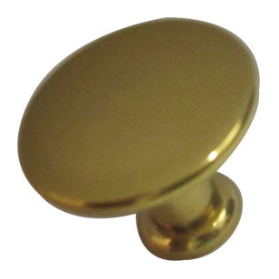 Cabinet Knob - 25mm - Gold Finish