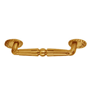 Cabinet Handle - Old Gold Finish - 96mm