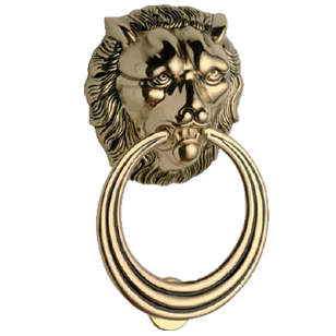 Door Knocker - Matt Old Antique Finish
