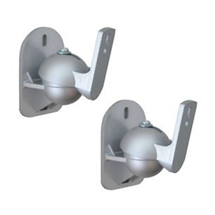 Speaker Wall Bracket - (Speaker Stand) - Load Capacity : 15 Kg - Silver Finish