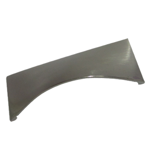 Metal Zamak Shell Cabinet Handle- Stainless Steel - 64mm