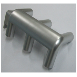 3 Way Corner Connector - Silver Finish