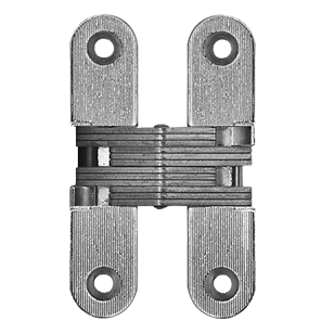 Concealed Door Hinge - 95.6 x19.6mm - Nickel Plated Finish