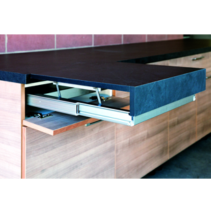 Table Extension Fitting - Pull Out worktop - 900mm  - OPLA