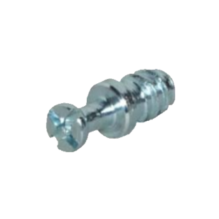 Modulfix 20/32 Steel Bolt 5mm with cross slot - Blanc Finish