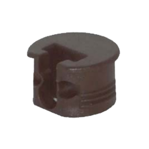 Modulfix 20-R - Connector - Brown Colour - Board Thickness - 19mm