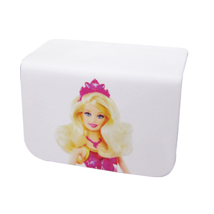 Barbie Kids Handle - Small - Multicolored - Rectangle