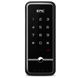 Digital Door Lock - Black Colour - N-TOUCH Password - Without Handle