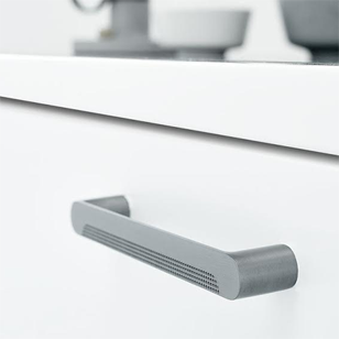 METRO Cabinet Handle - 160mm - Brushed Anthracite Finish