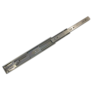 Telescopic Channel with soft close - 12 Inch - Stainless Steel Finish
