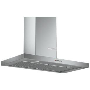 Wall Mounted Hood - 90 cm - Stainless Steel Finish