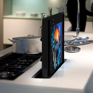 Electric Flat Lift - silver - Suitable for screen sizes upto 30 Inch