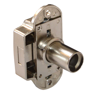 Espagnolette Lock Housing - Nickel Plated Finish - 25/32mm