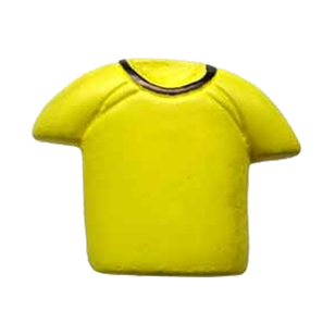 Yellow Colour T-Shirt Cabinet Knob