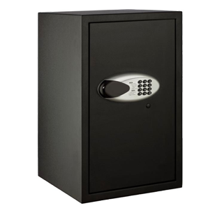 Electronic Motorized Digital Safe with LED Display Screen - H556mmXW350mmXD360mm - Black Colour